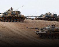 AFRİN'E OPERASYON BAŞLADI,TSK OBÜSLERLE YPG'Yİ VURUYOR