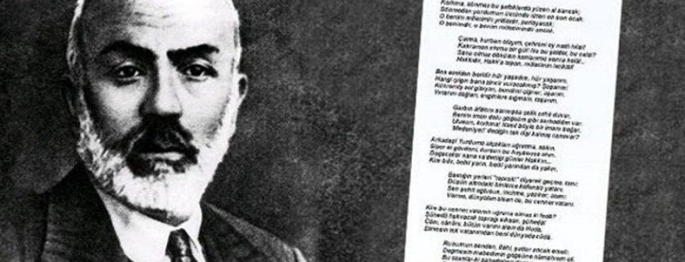 MEHMET AKİF ERSOY'UN TORUNUNDAN ERDOĞAN'A İSTİKLAL MARŞI CEVABI