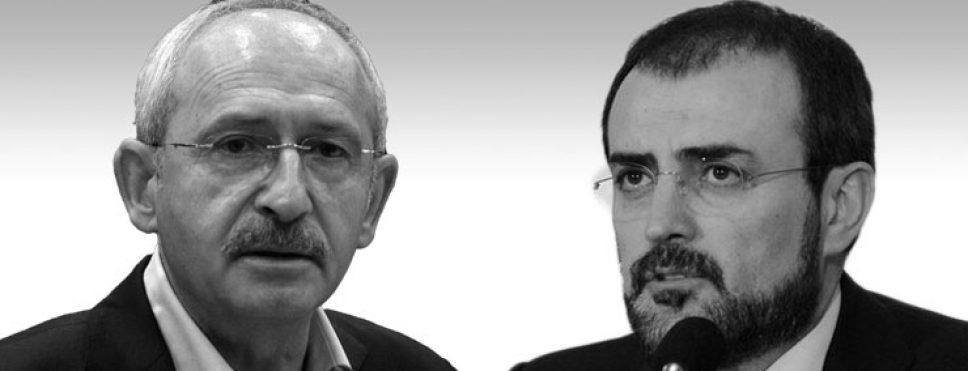 AKP'Lİ ÜNAL,KILIÇDAROĞLU TÜRKİYE'YE OPERASYONUN SÖZCÜLÜĞÜNÜ ÜSTLENDİ