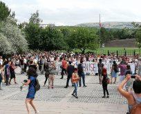 ODTÜ'DE KAVAKLIK DİRENİŞİ ETKİNLİĞİNE POLİS ABLUKASI