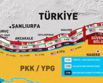 GÜVENLİ BÖLGE TEPKİSİ;SONUCU YPG/PKK'İSTAN OLUR