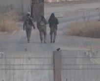 HANGİ GÜVENLİ BÖLGE?! YPG'LİLER TÜRKİYE SINIRINDA