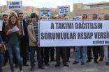 AKP'Lİ KEÇİÖREN BELEDİYESİNİN MİLİS KUVVETİ OLDUĞU İDDİA EDİLEN A TAKIMI SOKAĞA İNDİ