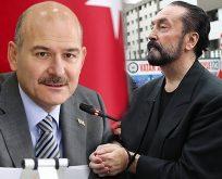 ADNAN OKTAR'CILAR DURUŞMADA SÜLEYMAN SOYLU'NUN ADINI VERDİ