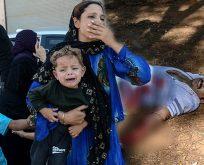 YPG'DEN ROKET SALDIRISI;1'İ BEBEK 2 ŞEHİT,ONLARCA YARALI