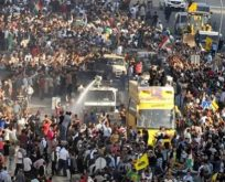 BUGÜN YOK ETMEYE ÇALIŞILAN PEŞMERGE'Yİ 29 EKİM 2014'TE HABUR'DAN BÖYLE GEÇİRDİLER