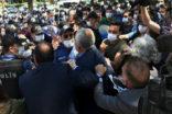 HDP'NİN DARBE VAR YÜRÜYÜŞÜNE POLİS MÜDAHALESİ