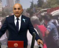 CHP'Lİ VEKİLLERE POLİS SALDIRISI;KÜFÜR VE ŞİDDET