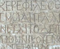 UYGARLIKLAR MERKEZİ ANADOLU,KARAMAN'DA BİZANS YAZITI