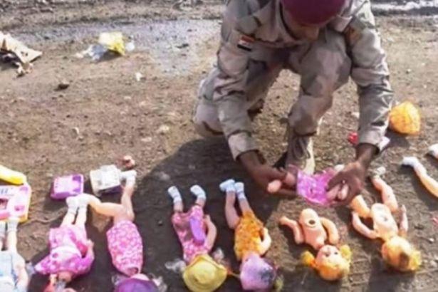 IŞİD TERÖRDE SINIRLARI ZORLUYOR ŞİMDİ DE OYUNCAKTAN BOMBA