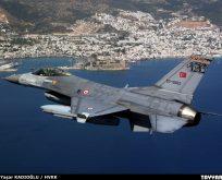KOMŞULARLA İYİ Kİ SIFIR SORUN:EGE VE AK DENİZ'DE F16'LARA TACİZ