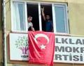 TEHLİKE ÇANLARI;BİR GRUP ELAZIĞ HDP İL BİNASINA GİRDİ