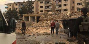 NUSAYBİN'DE BOMBALI SALDIRI,2 POLİS ŞEHİT 14 YARALI