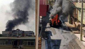MARDİN YANGIN YERİ,3 PKK'LI ÖLÜ,12'Sİ ASKER VE POLİS 17 YARALI